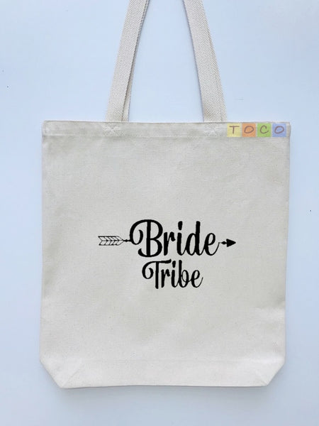 Bride Tribe Canvas Tote Bags BB05