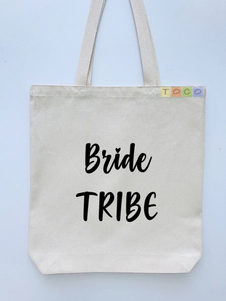Bride Tribe Canvas Tote Bags BB07