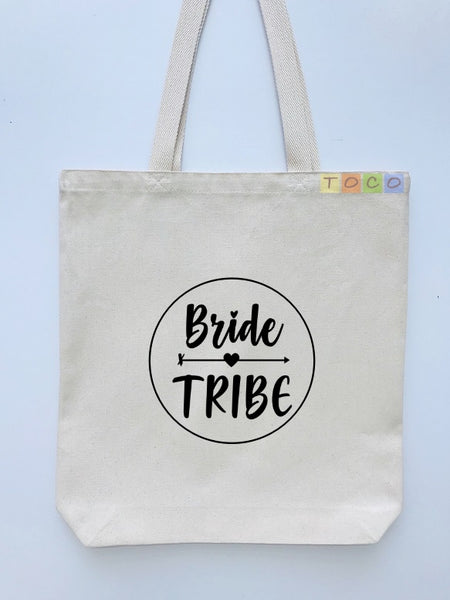 Bride Tribe Canvas Tote Bags BB08