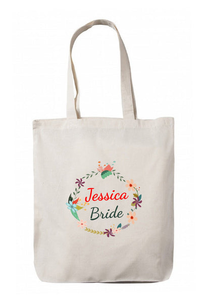 Personalized Wedding Canvas Gift Bags, Party Favors Gifts, WB53