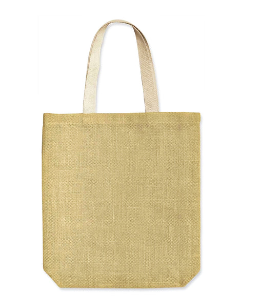 Wholesale Burlap Jute Shopper Tote Bags, Everyday Totes, BSB01
