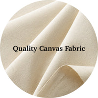 Natural Canvas Laundry Bag
