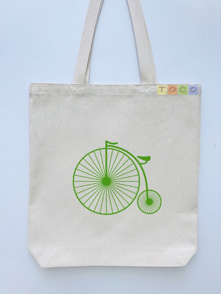 Bicycle Canvas Tote Bags, BB01