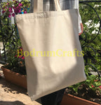 Wholesale Plain Heavy Duty Canvas Tote Bags with Bottom Gusset, Everyday Totes Bulk