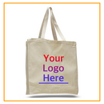 Custom Tote Bags with Logo, Personalized Canvas Totes with Name, Large Size, Your Photo Printing, Promotional Tote, Bag Bulk