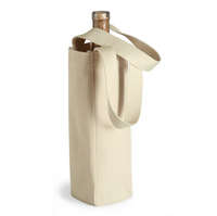 Canvas Wine Tote Bags, Single Bottle Totes Wholesale