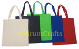 Wholesale Heavy Duty Plain Canvas Tote Bags in Bulk