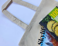 12 Eco Pack, Wholesale Blank Natural Cotton Tote Bags in Bulk