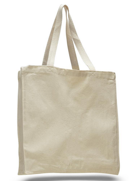 Large Canvas Cotton Tote Bags Wholesale, Cheap Handbags, White Black