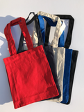 Wholesale Small Size Canvas Cotton Book Tote Bags in Bulk, Mini Cloth Totes