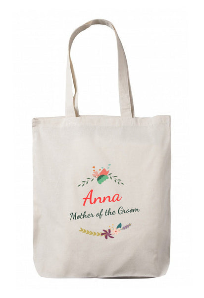 Personalized Wedding Canvas Gift Bags, Party Favors Gifts, WB58