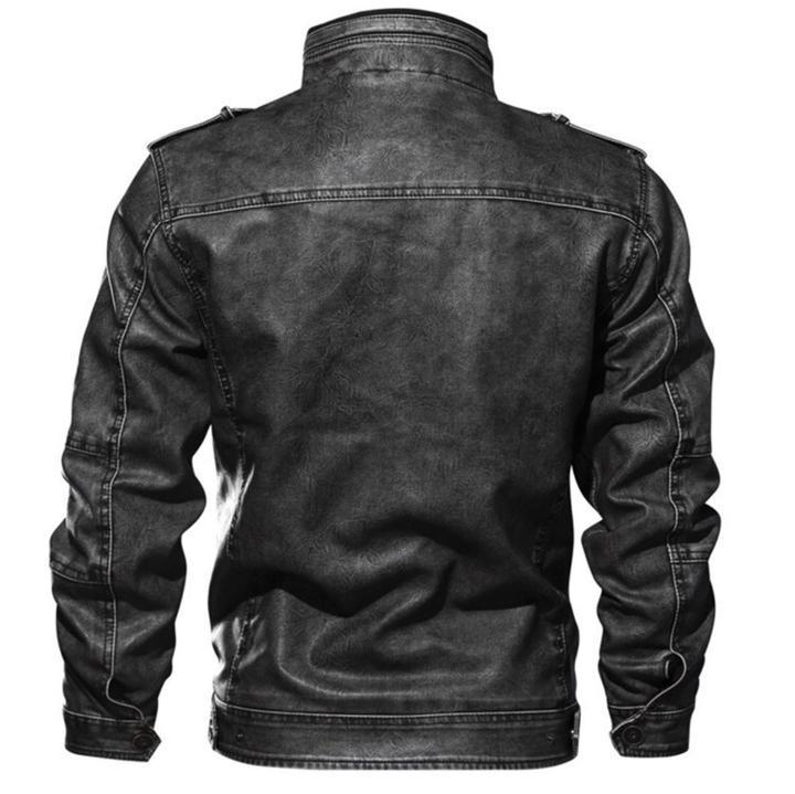 Bosso Wear Classic Leather Jacket