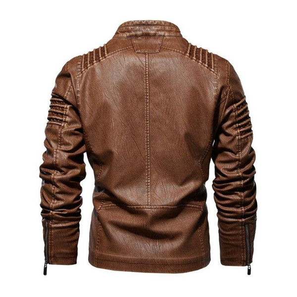 Bosso Wear Browny Leather Jacket