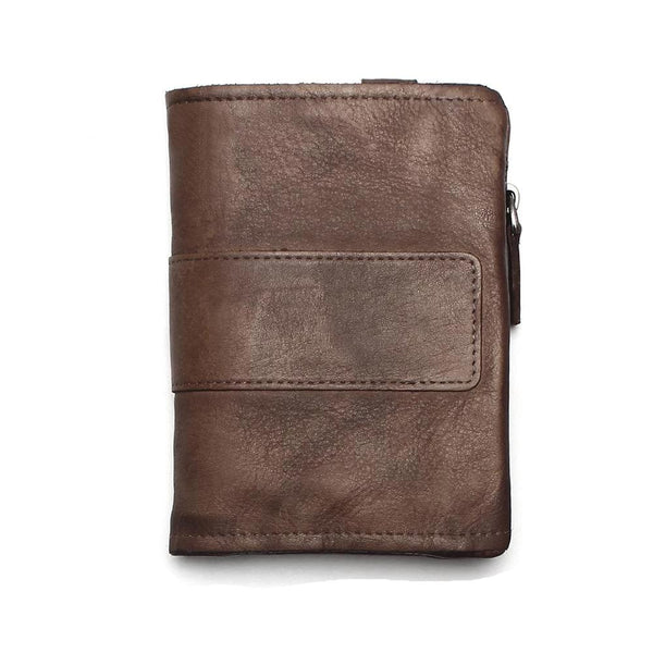 Bosso Wear Zipper Design Wallet