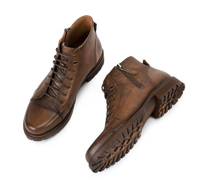 Bosso Wear Vintage Leather Shoes