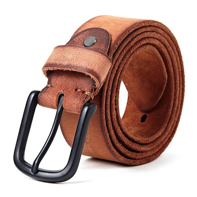 Bosso Wear Retro Design Leather Belt
