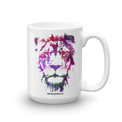 Galaxy Lion of Judah - Coffee Mug