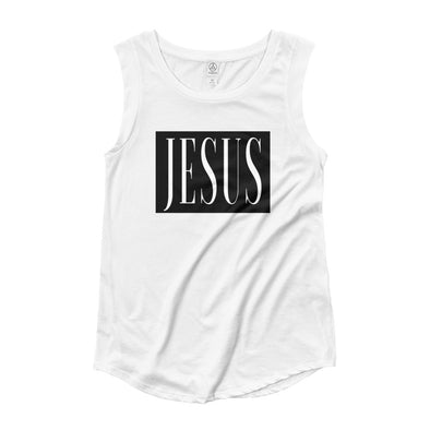 JESUS - Ladies' Cap Sleeve T-Shirt