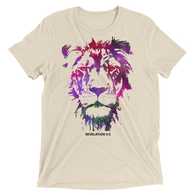 Galaxy Lion of Judah - Vintage ultra soft t-shirt