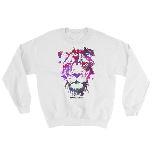 Galaxy Lion of Judah - Comfy Sweatshirt