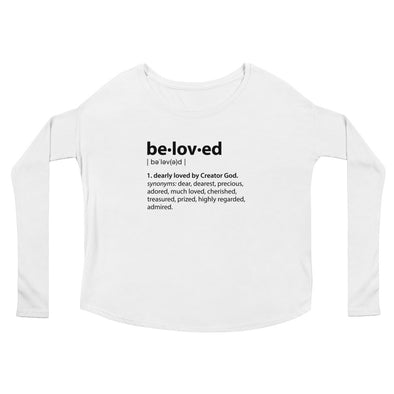 Beloved Definition - Ladies' Flowy Long Sleeve Tee