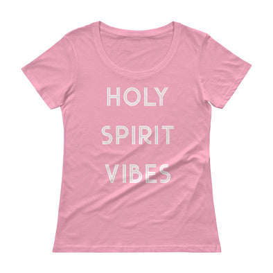 Holy Spirit Vibes - Ladies' Scoopneck T-Shirt
