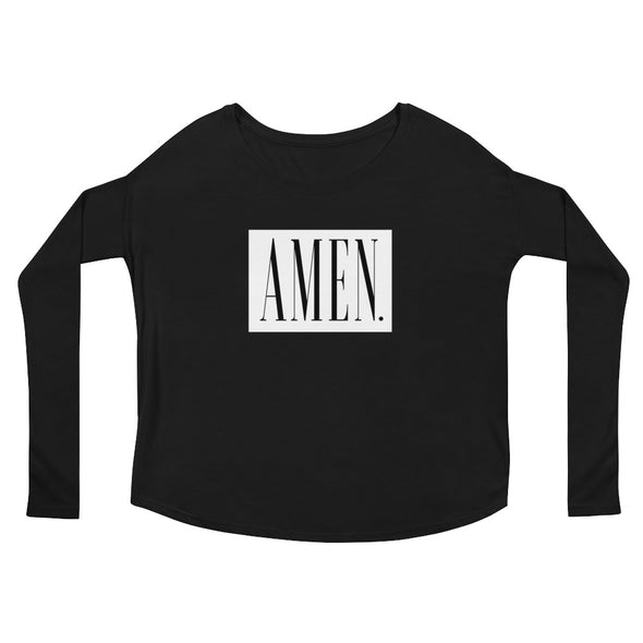 AMEN - Ladies' Flowy Long Sleeve Tee