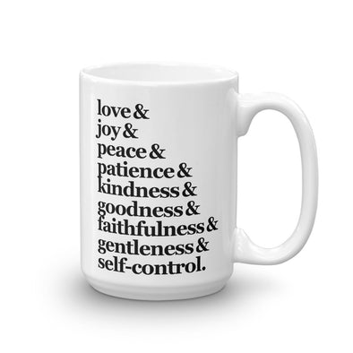 The Fruit of the Spirit - Coffee Mug
