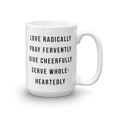 Gospel Mantra - Christian Coffee Mug