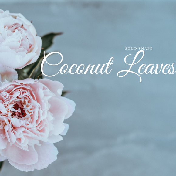 Coconut Leaves Solo Scent