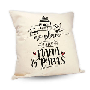 "Nana & Papa's House 18"" Pillow"