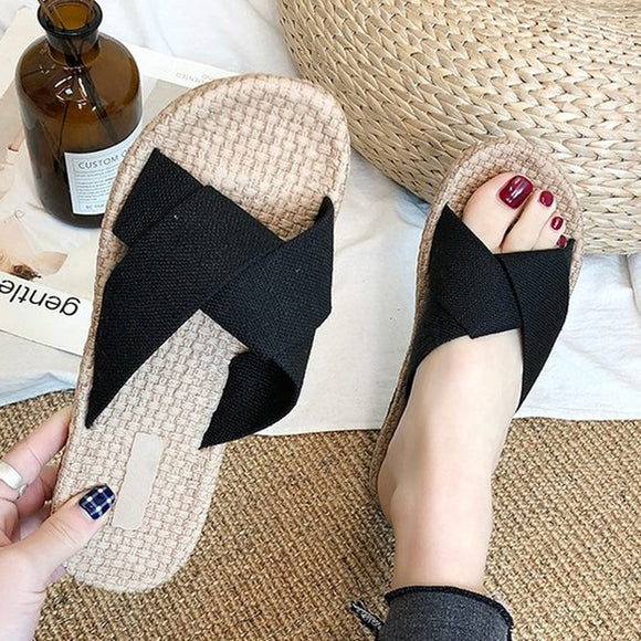 Chic Beach Slippers