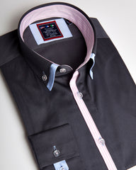 Blue dress shirts | Mens designer shirts