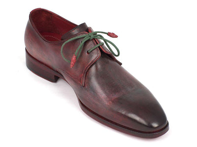Men Fashion - Paul Parkman Men's Mixed Color Derby Shoes