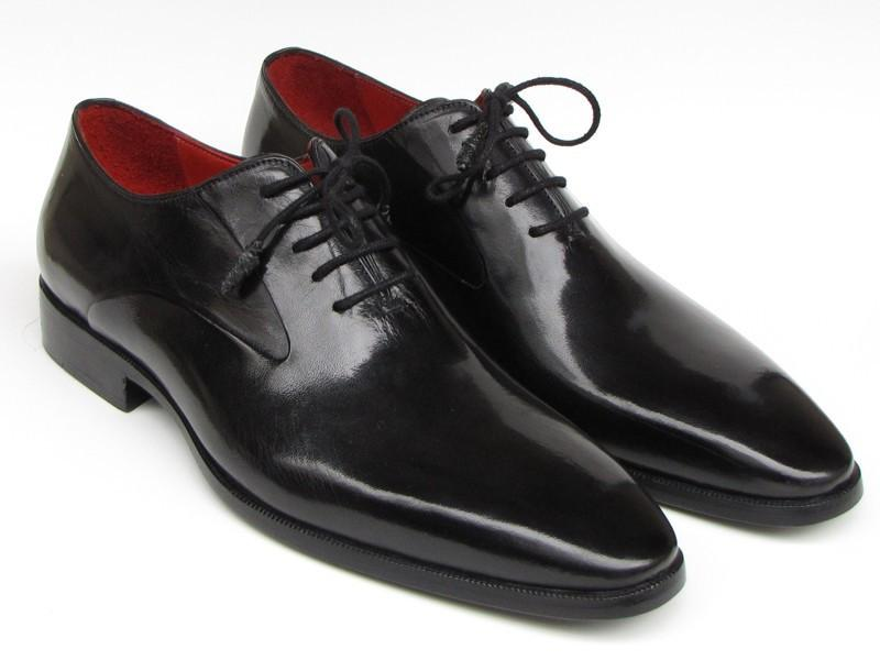 Men Fashion - Paul Parkman Men's Black Oxfords Leather Upper and Leather Sole