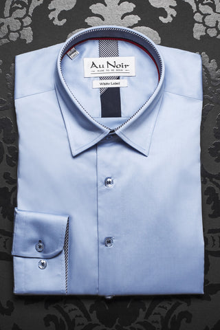 Au Noir shirt - Ferre Light Blue  - [White Label]