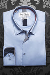 Au Noir shirt - Ferre Light Blue  - [White Label] - Men Fashion