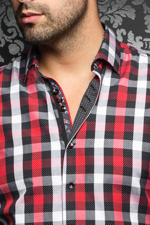 Au Noir Red Shirt - Filippo Red