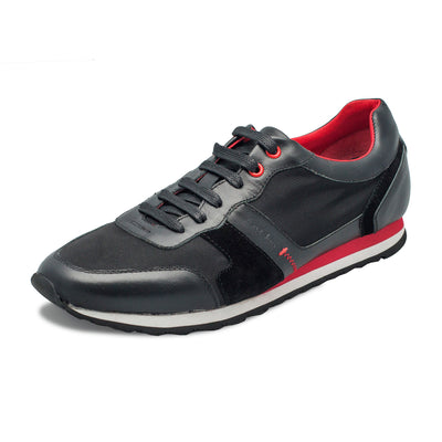Men Fashion - Au Noir Sneakers - Luca Black