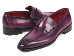 Paul Parkman Men's Loafers Purple (ID#93PR814)