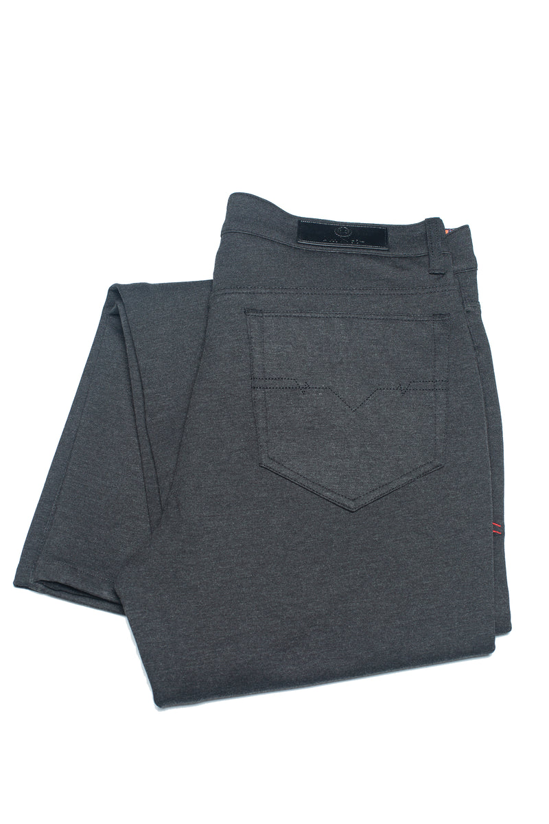 Au Noir Dressy Stretch Pant - Winchester Charcoal