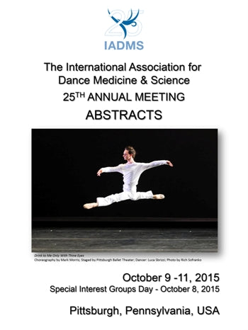 2015 Annual Meeting Abstract Book (Downloadable PDF)