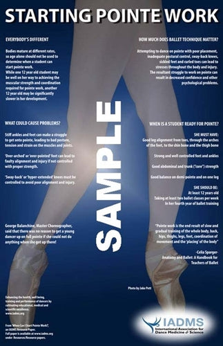 Pointe Readiness Poster