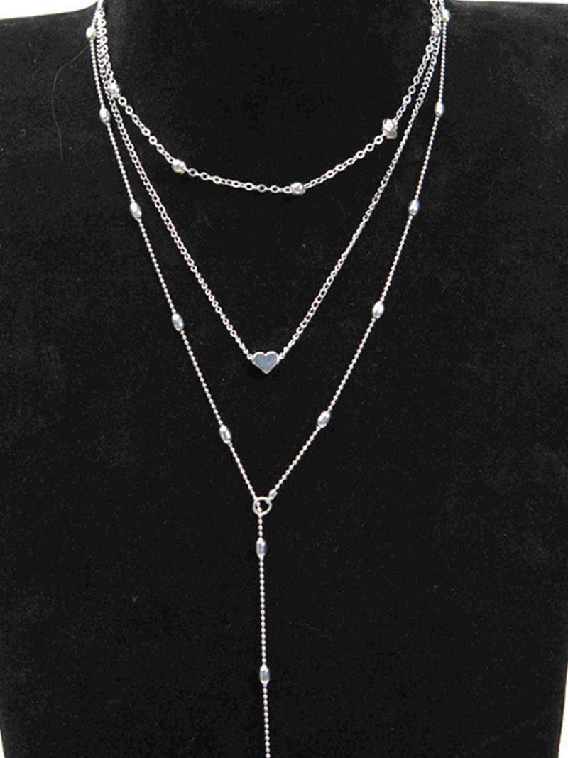 Three Pieces Long Necklaces For Women
