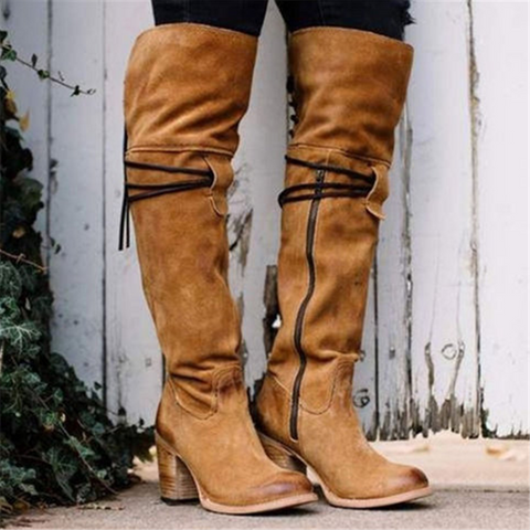 Fashion New Warm Over The Knee Boots