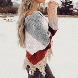 Casual Fashion Loose Knit Sweater