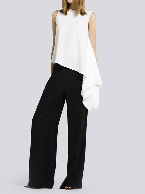 Fashion Casual Loose Wide Leg Pants