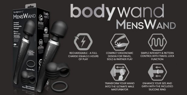 bodywand mens wand at naughty alice | the best sex toys for men