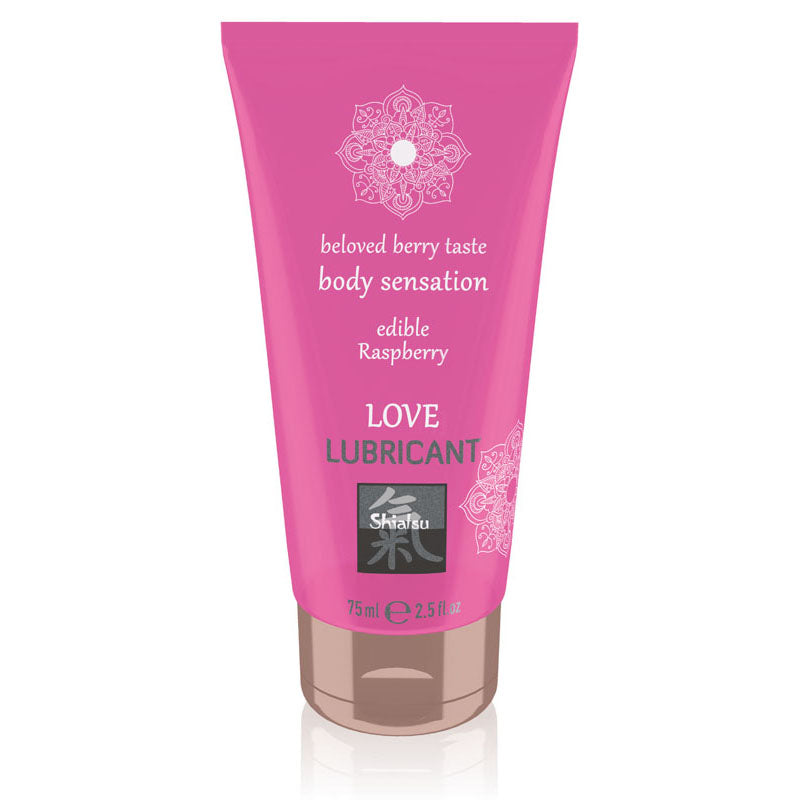 SHIATSU Edible Love Lubricant - Raspberry