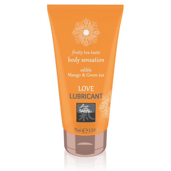SHIATSU Edible Love Lubricant - Mango & Green Tea